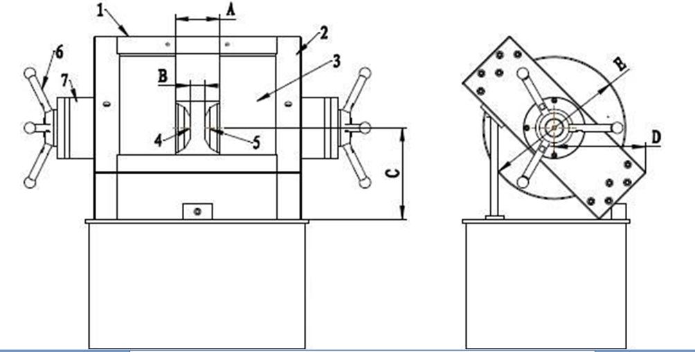 HTA系列电磁铁特点: *磁场气隙双向可调; *双轭的结构形成闭合磁路; *有较好的刚性和磁场方向水平; *轭铁斜式45度角座放,便于取放样品和与其他设备的组合架构。 HTA系列电磁铁主要用途: HTA系列电磁铁气隙调节范围宽,极头更换方便,适用于霍尔效应研究,磁电阻效应研究、磁滞伸缩研究、转矩磁强计、力法磁强计、振动样品磁强计、磁化率测量装置、磁性材料测量装置等。